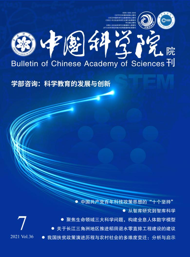 中国科学院院刊杂志
