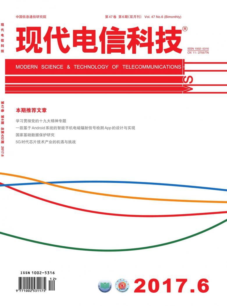 现代电信科技杂志