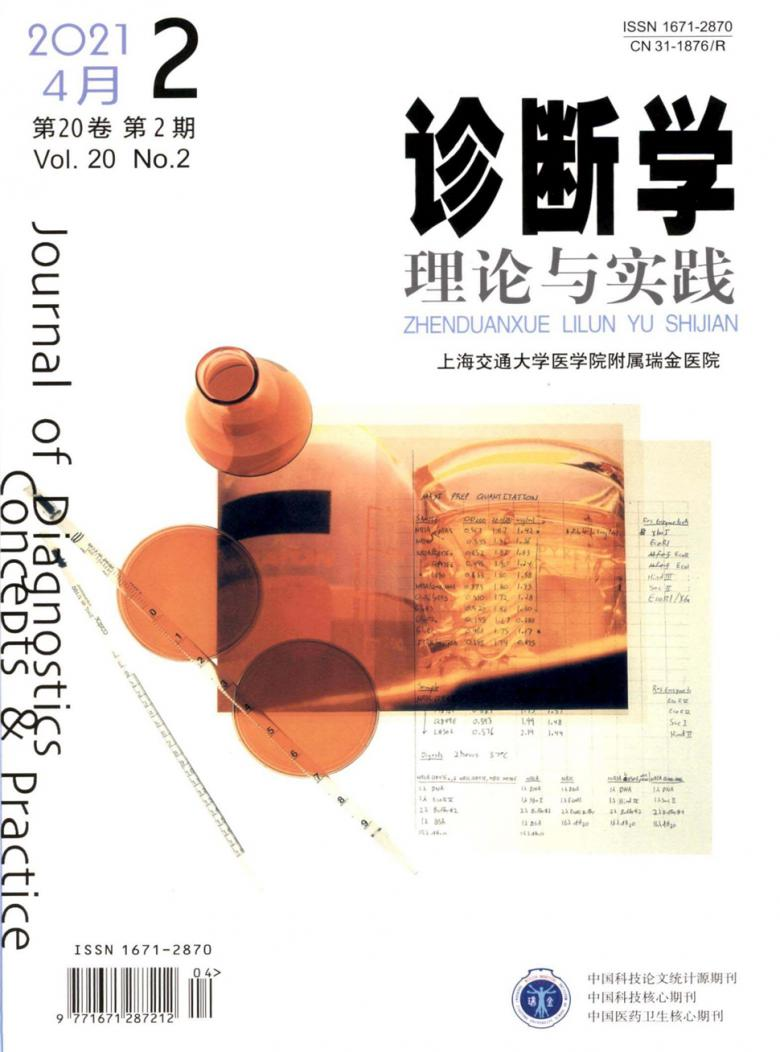 诊断学理论与实践杂志