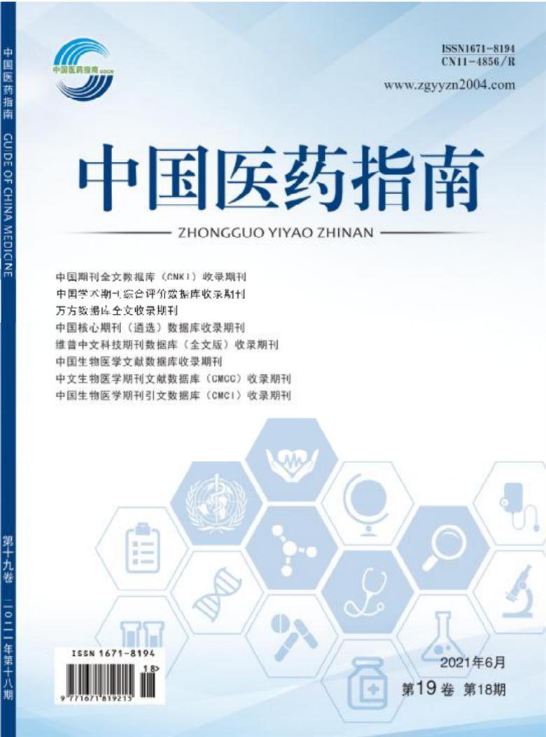 中国医药指南杂志