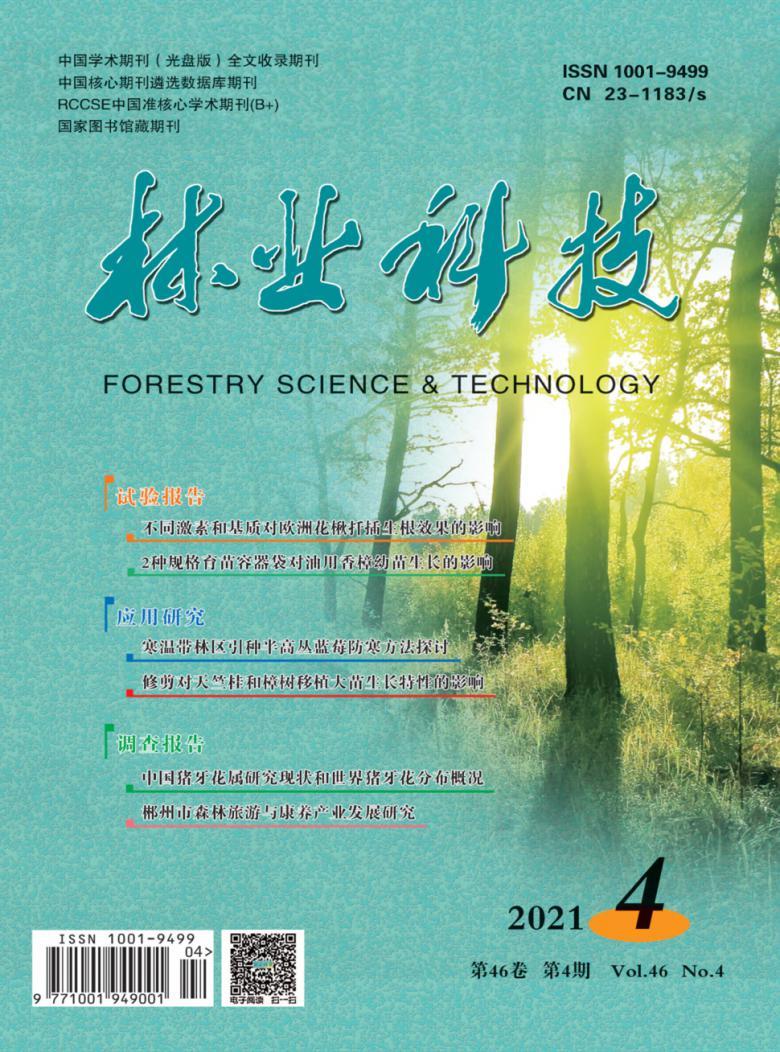 林业科技杂志