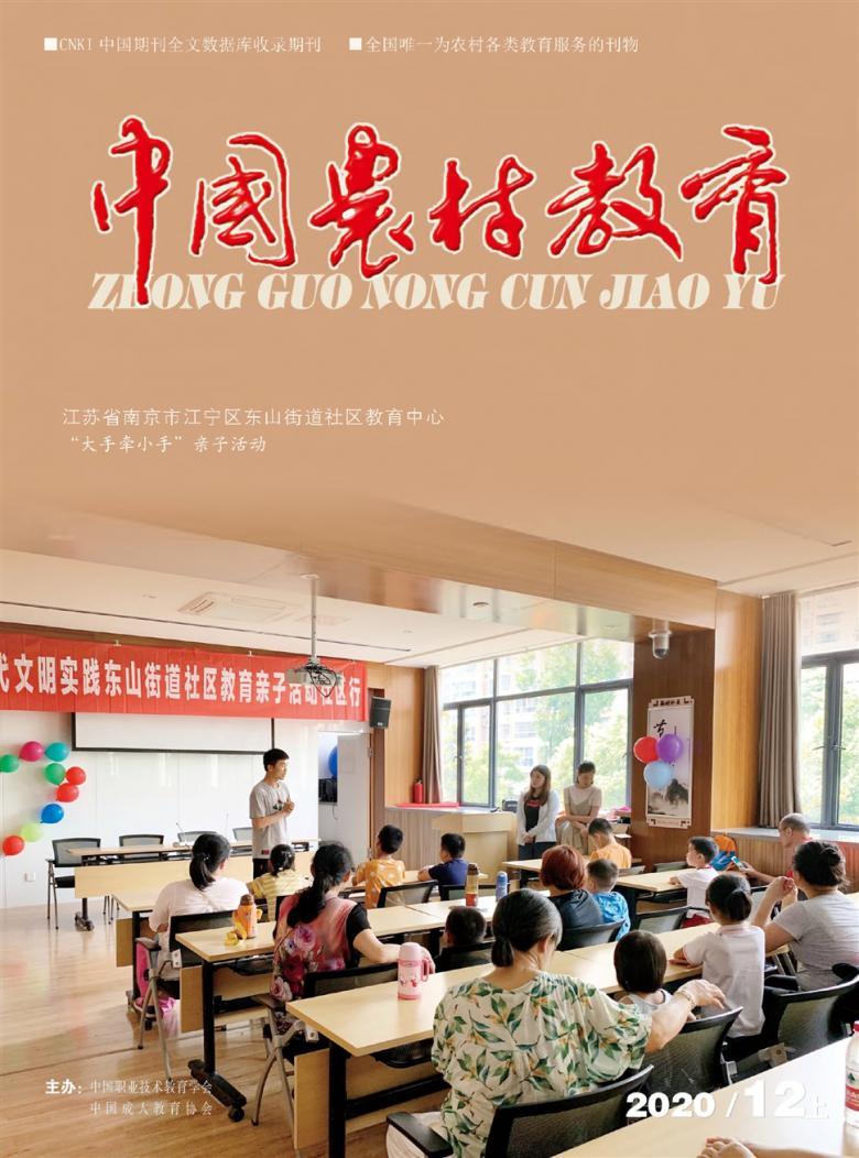 中国农村教育论文