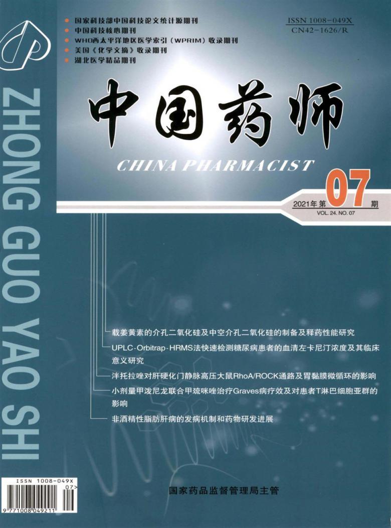 中国药师杂志