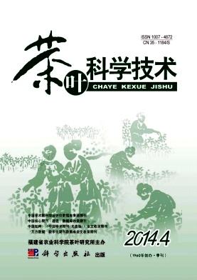 茶叶科学技术杂志